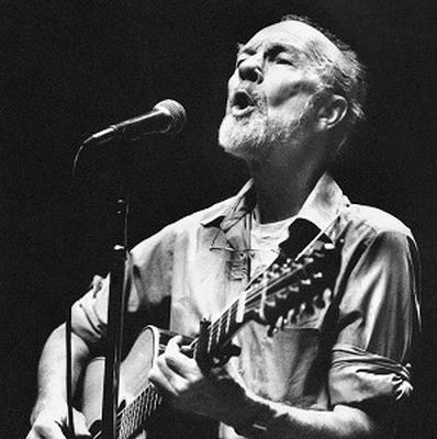 Pete Seeger was honoured at the Radio 2 Folk Awards