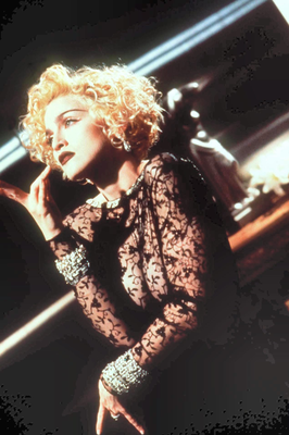 1990: Madonna in the video for 'Vogue'