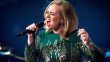 The year's best selling artist, Adele.