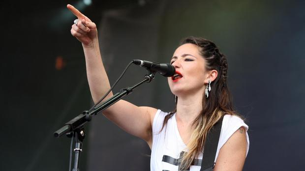 KT Tunstall has released a new Christmas charity single (Chris Radburn/PA)