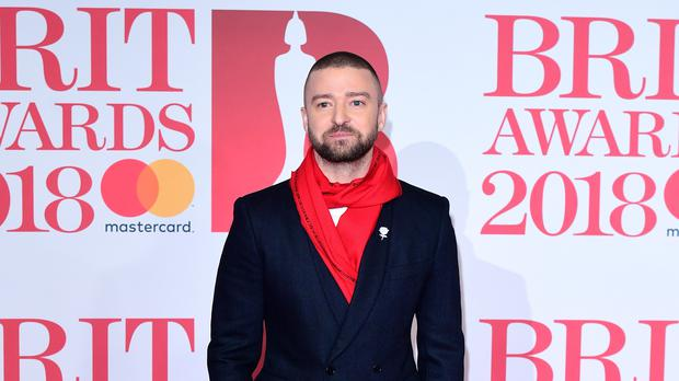 Justin Timberlake has shown his support for the England football team ahead of their World Cup semi-final. (Ian West/PA)