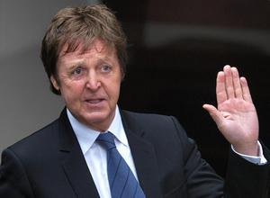 Sir Paul McCartney and Ms Mills went through a bitter split in 2008. He is pictured here leaving London's High Court after reaching a settlement of £24.3 million in their divorce deal (Max Nash/PA)
