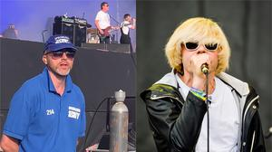 Kevin Cox and Charlatans singer Tim Burgess (@AllyDawkins/Twitter)