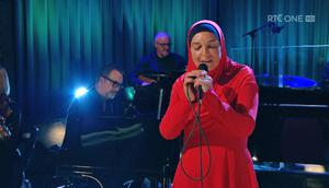 Sinead O'Connor performed new material on RTÉ's Late Late Show