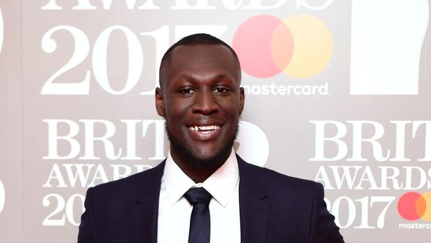 Stormzy has topped the albums chart