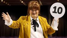 Susan Boyle at the SEC Armadillo in Glasgow to promote her Ten tour (Andrew Milligan/PA)