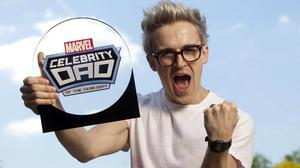 Tom Fletcher, from McBusted, has been crowned Marvel Celebrity Dad of the Year 2014