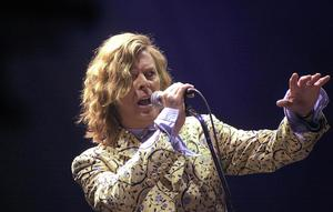 David Bowie at Glastonbury (Toby Melville/PA)