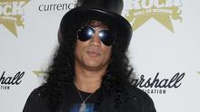 Slash performed at a Spotify session
