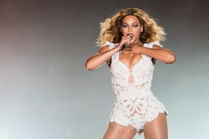 Online music service: Beyonce's tracks are available on Tidal which relaunched in March