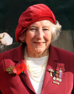 Dame Vera is known as the Forces' Sweetheart (Zak Hussein/PA)