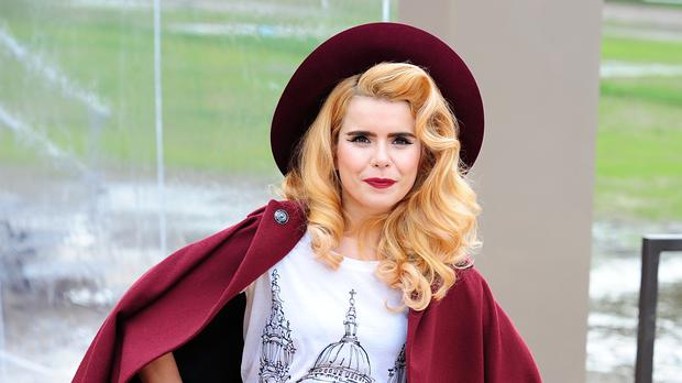 Singer Paloma Faith has announced that she is pregnant with her first child