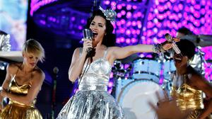 Katy Perry performs during the Grammy Nominations Concert in Los Angeles (Matt Sayles/AP)