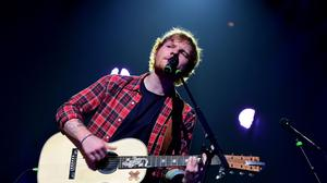 Ed Sheeran performing at the during the iTunes festival at the Roundhouse, London