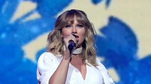 Taylor Swift topped the charts again (Isabel Infantes/PA)