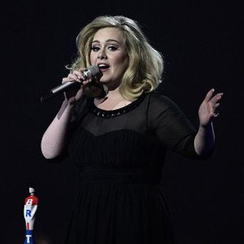 Adele is among the British acts to triumph in the US