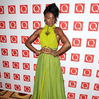 Shingai Shoniwa arriving at the 2012 Q Awards, at the Grosvenor House Hotel, Park Lane, London. PRESS ASSOCIATION Photo. Picture date: Monday October 22, 2012. Photo credit should read: Dominic Lipinski/PA Wire