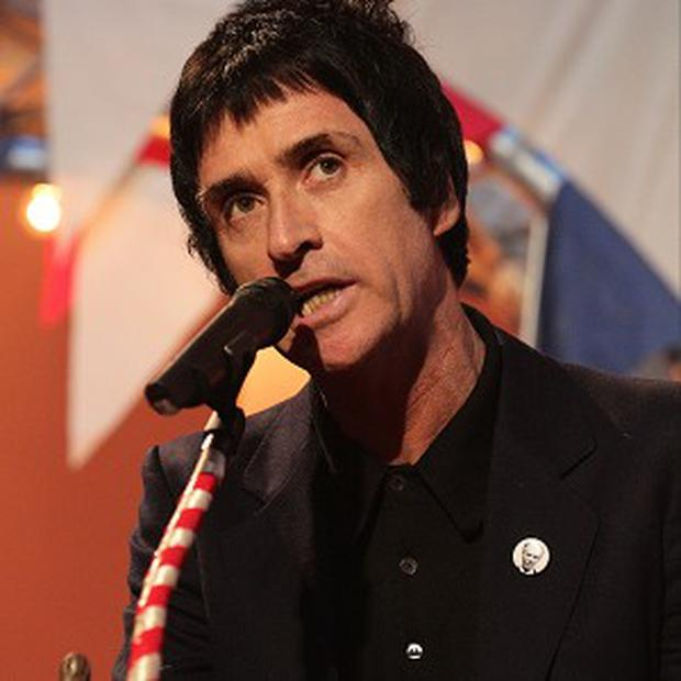 Johnny Marr said he was honoured to be named NME's Godlike Genius 2013