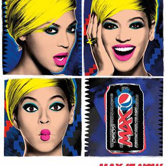 Pop Icon, Pop Art! Designed by Beyonce and Pepsi will appear in more than 50 countries