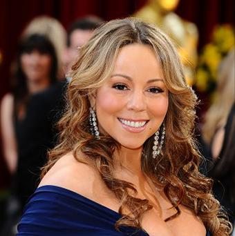 Mariah Carey was at the record label bash