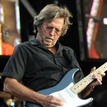 Eric Clapton revealed he likes washing his own clothes