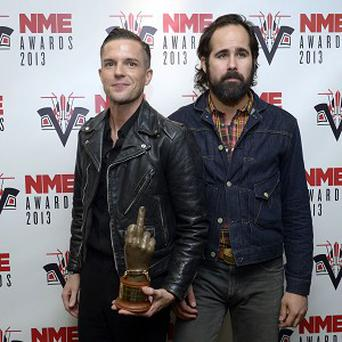 The Killers are currently working on new music