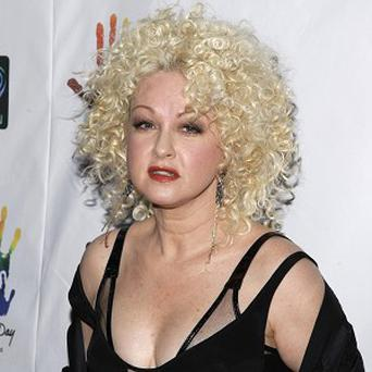Cyndi Lauper has had a great experience working on the Kinky Boots musical