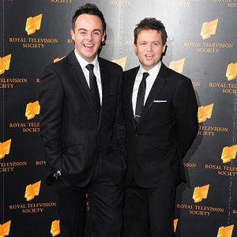 Ant and Dec are on course to be number one in the charts