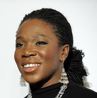 India Arie has denied lightening her skin for a publicity photo (AP)