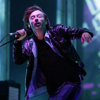 Thom Yorke has been interviewed by Alec Baldwin in the US
