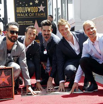 Backstreet Boys were honoured on the Hollywood Walk of Fame
