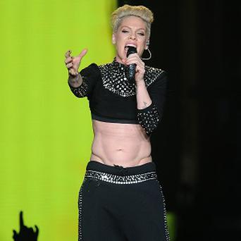 Pink had to miss a concert because of illness
