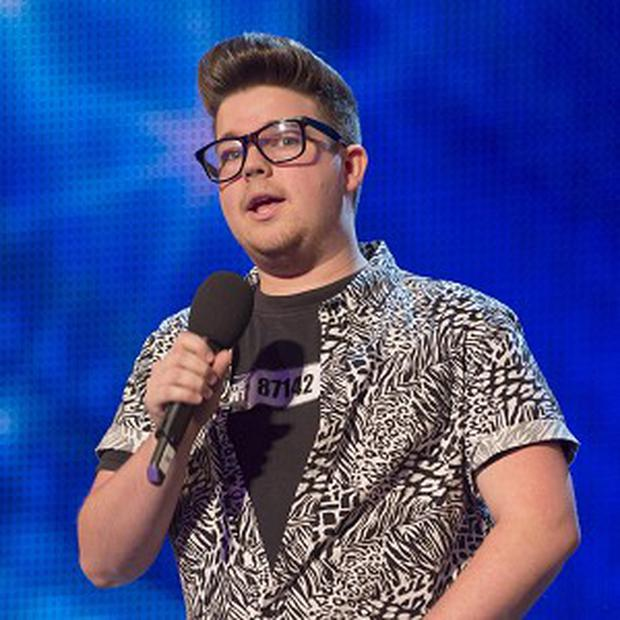 Alex Keirl said he felt 'sick' watching his audition back