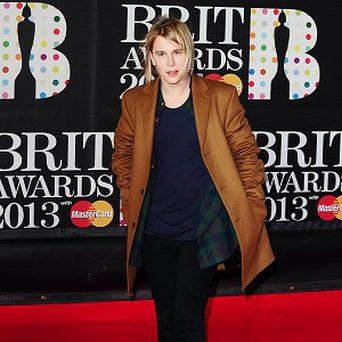 Tom Odell is enjoying a victory tour of the US after winning a Brit award