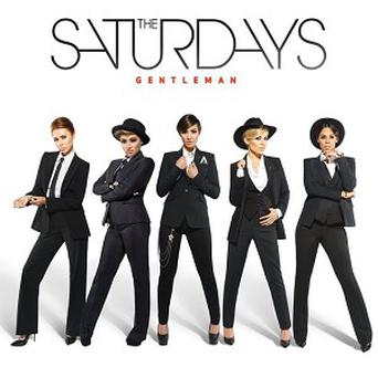 The Saturdays said they enjoyed dressing up as men for the shoot
