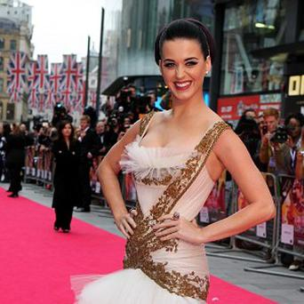 Katy Perry said she was honoured to perform with the Rolling Stones