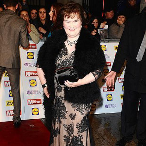 Susan Boyle is going on tour for the first time