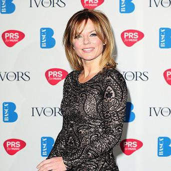 Geri Halliwell has been working on new solo material
