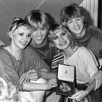 Bucks Fizz's hit Making Your Mind Up has been named the nation's favourite UK Eurovision song