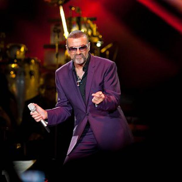 George Michael received minor injuries in the crash