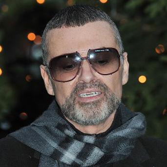 George Michael was injured falling from a car on the M1 motorway during rush hour