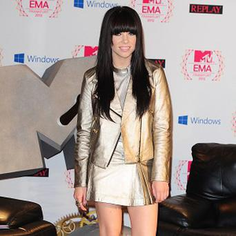 Carly Rae Jepsen missed out on playing live because of a thunder storm