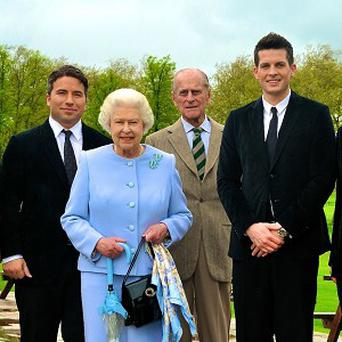 The Tenors meet The Queen and the Duke of Edinburgh