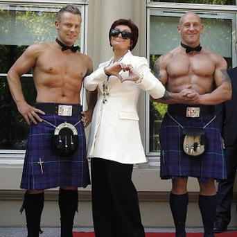Sharon Osbourne was in full flow at The X Factor auditions
