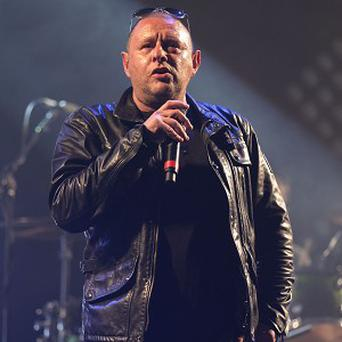Shaun Ryder of Happy Mondays helps kick off the Isle of Wight Festival