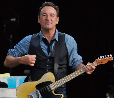 July will be Springsteen month in Ireland with five giant gigs on the island.