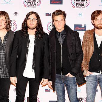 Kings Of Leon have been added to the bill at the iTunes Festival