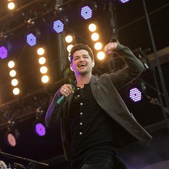 Danny O'Donoghue of The Script is a coach on The Voice