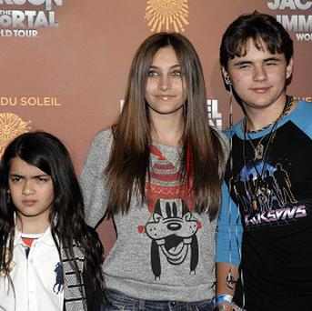 Michael Jackson's two older children gave testimony as part of a lawsuit