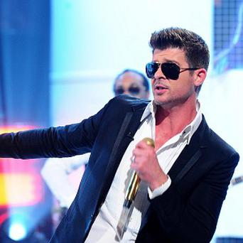 Robin Thicke's song Bluured Lines has been criticised